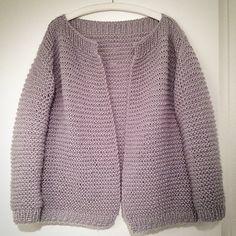 New jacket... #diy #handmade #knit #shareyourknits #grey #mohair #cosy #soft