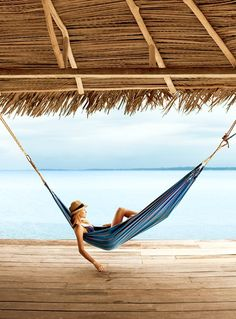 And when you need a break from roaming >> Just call it hammock time >> Bocas Del Toro, Panama >> Go Green, Am Meer, Beach Bum, Beach Relax, Cabana, Glamping, Summertime, Beautiful Places, Beautiful Hotels