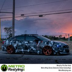 Seductive Urban car wrap camo is a super high definition quality print, non repeating camouflage vehicle vinyl wrap film. It is composed of a sexy silhouette pattern with different shades of gray colors. Fc Rx7, Eco Friendly Cars, Lifted Ford Trucks, Mustang Cars, Woman Silhouette, Car Ford, Bugatti Veyron, Car Wrap, Land Rover Defender