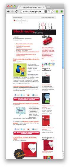 Bloknotes Marketing di aprile - 5 #consigli per amare e conservare i #clienti http://dld.bz/dGy6M