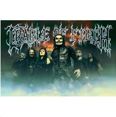 CRADLE OF FILTH Band Poster Flag  #cradleoffilth #hammerofthewitches #rockabilia #merchandise #licensedmerchandise #merch #metal #rock #posterflags #music