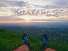 Puy de Dome lever soleil #trek #auvergne #randonner