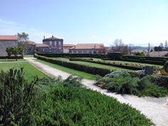 Gardens of Paço dos Cunhas de Santar