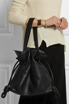 8d451a5ab138 Loewe - Flamenco Knot large leather shoulder bag