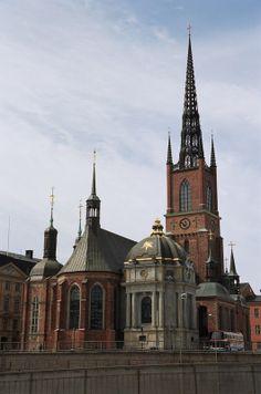 Riddarholmskyrkan - Stockholm by Vladimir Tarantaev