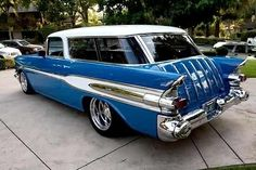 Check this out! I honestly enjoy this finish color for this classic chevy sports cars Chevy Sports Cars, Sports Wagon, Sport Cars, Classic Trucks, Classic Cars, Muscle Cars, Chevy Chevelle Ss, Chevrolet, Station Wagon Cars