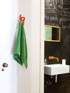 Kamer 26 krijtbord inspiratie on pinterest chalkboards chalkboard paint and blackboard paint - Board deco kamer ...