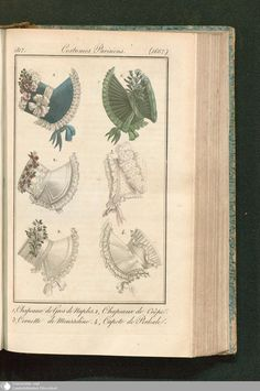 Die 99 besten Bilder von 1800s - 1830s Bonnets   Hats   Regency ... c4c32d83876