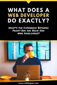 What does a front end or backend web developer do exactly? What tools and programming languages should you learn to start a career or work as a freelance developer to make money with your coding and web dev skills? Basic Computer Programming, Learn Computer Coding, Object Oriented Programming, Computer Technology, Computer Science, Teaching Technology, Medical Technology, Energy Technology, Technology Gadgets