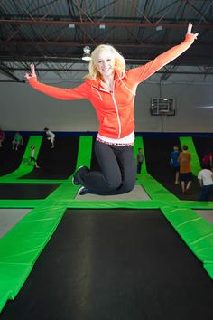 G6 Trampoline Park, Vancouver, WA - so taking my kids here soon.