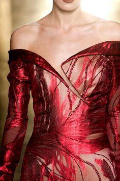 Georges Chakra Details Haute Couture Autumn 2012