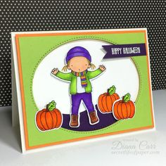 Cute Halloween Card by dmcarr7777 - Cards and Paper Crafts at Splitcoaststampers