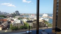 Room view from the Quay West Suites Sydney Quay West, Family Travel, Sydney, Australia, Room, Family Trips, Bedroom, Rooms, Rum