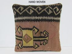 Black Throw Pillows, Floral Pillows, Decorative Pillows, Outdoor Cushion Covers, Outdoor Cushions, Kilm Pillows, Bed Pillows, Kilim Beige