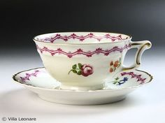 Limoges Haviland Fontainebleau cup and saucer