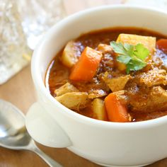 Vegetable Stew Recipe to take the chill out of a cold, rainy day.