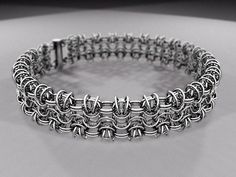 Picture of ChainMaille: Byz 4in1 Tube Chain (step-by-step tutorial)