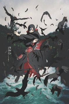 Find images and videos about aesthetic, wallpaper and naruto on We Heart It - the app to get lost in what you love. Itachi Uchiha, Naruto Shippuden Sasuke, Anime Naruto, Art Naruto, Naruto Drawings, Wallpaper Naruto Shippuden, Manga Anime, Gaara, Boruto