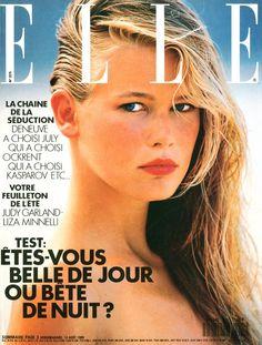 Elle  -  Claudia Schiffer