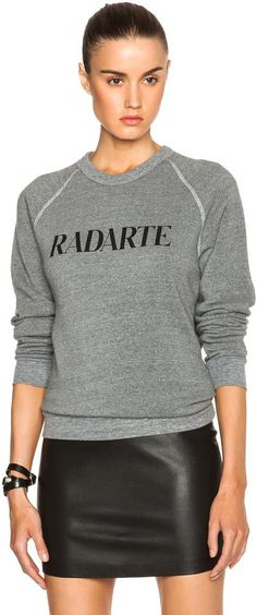 Pin for Later: 60+ Gifts For Girls of Every Style  Rodarte Radarte Poly-Blend Sweatshirt ($154)