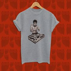 Bruce Lee DJ Shirt, Tony Stark Avenger Age of Ultron Shirt.