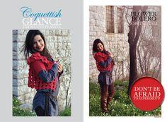 #crochet #design #photography #handmade #bolero #flowers #nature