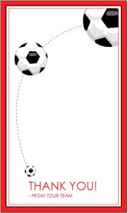 Bnute productions free printable soccer coach thank you card membership certificate templates thank you card for a soccer coach yelopaper Gallery