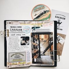 """""""Memories of the 2015 Travelers Company Caravan, including cards/notes from @misc_store_ams. Also used my new Chamil Garden washi tape.…"""""""