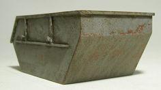 Bau Schutt Container 1:32 Spur1 Handarbeitsmodell Polystyrol gealtert Washing  http://www.ebay.de/cln/kunstgalerie-winkler/Modellbau/90585407013
