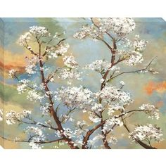 We already have this in the living room. �38-in W x 30-in H Floral Canvas