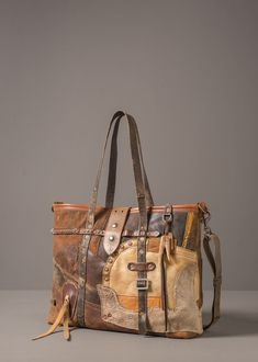 Custom-Made Houdini Patchwork Leather Tote 9f9a45ce88