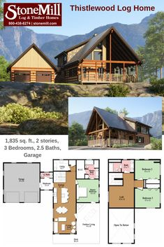 51 Best StoneMill Log Homes images in 2019 | Wood cabins