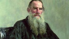 Russian author Leo Tolstoy wrote the acclaimed novels War and Peace, Anna Karenina and The Death of Ivan Ilyich, and still ranks among the world's top writers. Ana Karenina, Alexander Pushkin, Law Of Love, Viking Life, Russian Literature, Mental Issues, Christian Love, Portraits, Famous Last Words