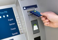 Using the ATM - http://www.pepage365.com/?p=6933