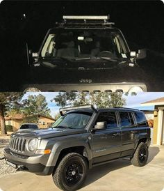 Lifted Jeep Patriot 235 65r17 Cooper Discoverer At3 Tires