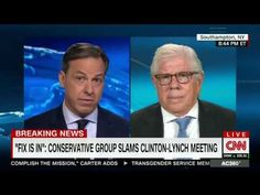 Carl Bernstein Blasts 'Incredible Lapse in Judgment' by Bill Clinton and AG Lynch - YouTube