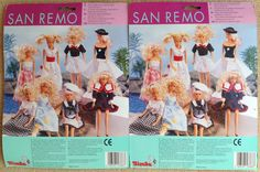 TWO Steffi Love SAN REMO Doll Outfit 1994 by Simba NRFP NIP New | eBay