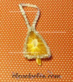 Campana de Navidad con naranjas secas - Inspiraciones: manualidades y reciclaje