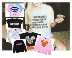 """""""When you're tumblr af"""" by cheeta-fire ❤ liked on Polyvore featuring mode"""