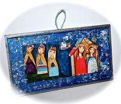 On Sale 25% off at checkout  Nativity with Wise Men  by FlorLarios