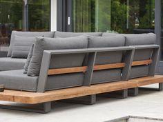 Outdoor Sofa, Outdoor Furniture Sofa, Sofa Design, Furniture Design, Palette Garden Furniture, Do It Yourself Sofa, Metal Sofa, Patio Grill, Outdoor Seating