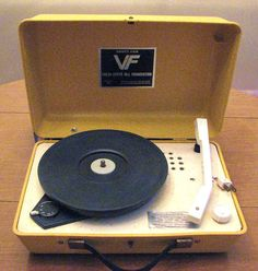 Vintage Record Player Vanity Fair