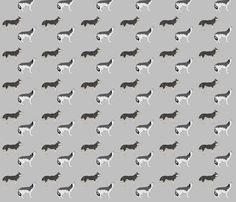 wolves fabric by maga2mars on Spoonflower - custom fabric