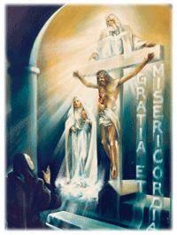Photo: Santissima Trinità, Padre, Figlio e Spirito Santo, io Vi adoro profondamente e Vi offro il preziosissimo Corpo, Sangue, Anima e Divinità di Gesù Cristo, presente in tutti i tabernacoli del mondo, in riparazione degli oltraggi, dei sacrilegi, delle indifferenze da cui Egli medesimo è offeso. Per i meriti infiniti del suo Sacro Cuore e del Cuore Immacolato di Maria io Vi domando la conversione dei poveri peccatori. Fatima.