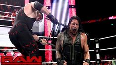 WWE Raw 28 February 2018: Roman Reigns vs Kane Last Standing Match! - YouTube
