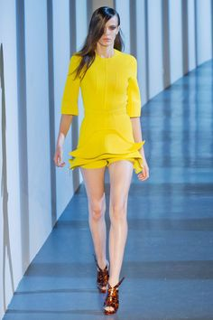 Thierry Mugler Spring 2013 RTW Collection - Fashion on TheCut