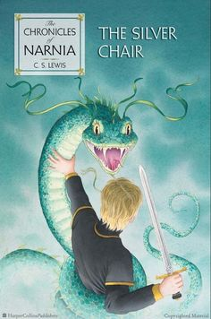 The Silver Chair, US Edition in Hardcover and Paperback. With cover art by three-time Caldecott Winner David Wiesner and original interior illustrations by Pauline Baynes.