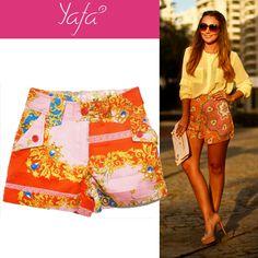 Short lenço www.yafa.com.br
