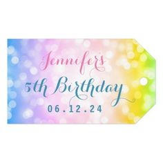 Playground boys photo birthday party envelope magical unicorn rainbow kids birthday party gift tags kids birthday gift idea anniversary jubilee presents negle Image collections