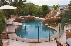 Houston Swimming Pool Safety Fences | Gulfstream Pool Covers of Texas